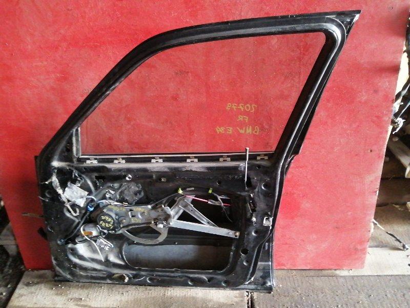 Уплотнительная резинка двери Bmw 5 Series E34 M51D25 передняя правая (б/у)