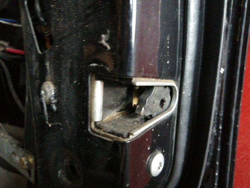 Замок двери Bmw 5 Series E34 M51D25 передний правый (б/у)