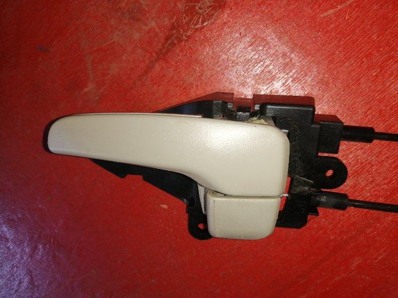 Ручка двери внутренняя Mitsubishi Colt Z25A 4G19 задняя левая (б/у)