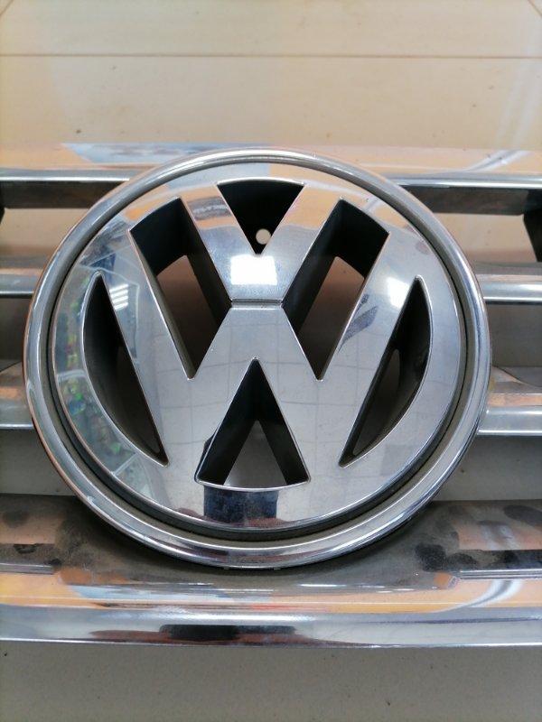 Эмблема решётки радиатора Volkswagen Touareg Gp 7LA BMV 2003 (б/у)