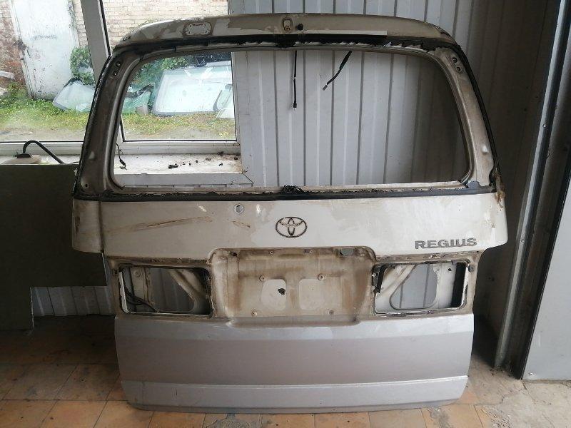 Крышка багажника Toyota Hiace Regius RCH47 3RZFE (б/у)