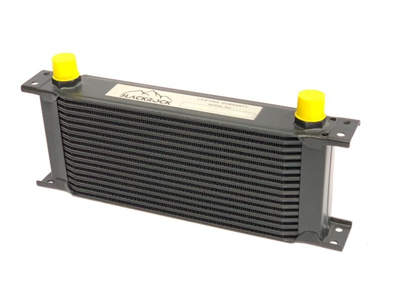 Масляный радиатор, маслокулер 16 рядов Subaru передний
