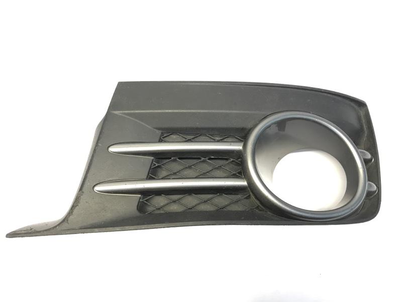 Накладка бампера, заглушка Subaru Impreza Wrx Sti GRB 2007 передняя левая (б/у)