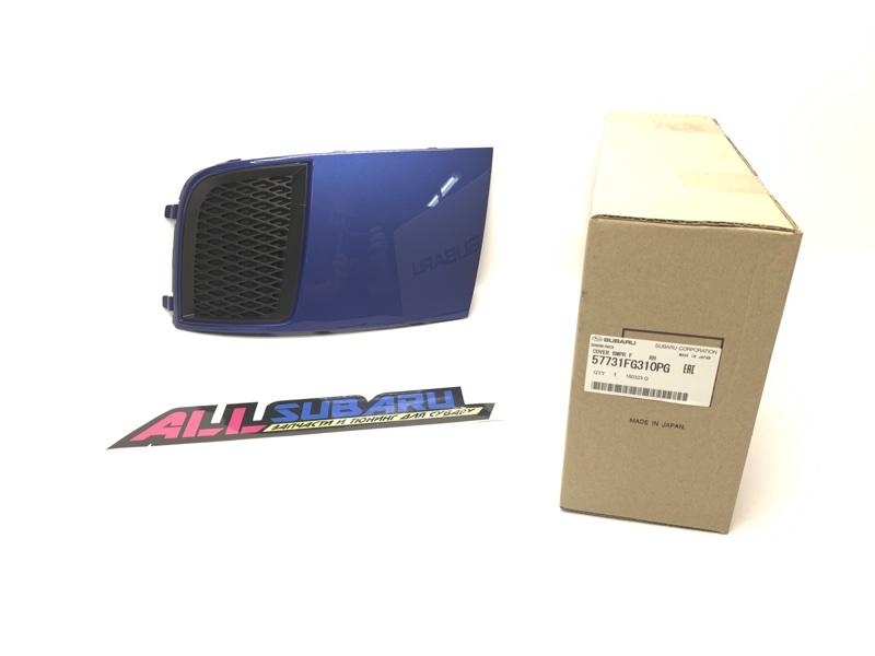 Накладка бампера, заглушка Subaru Impreza Wrx Sti GRB 2010 передняя правая