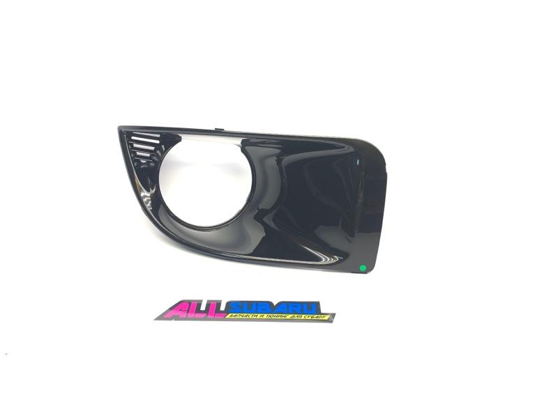 Накладка бампера, заглушка Subaru Impreza Wrx Sti GD 2003 правая
