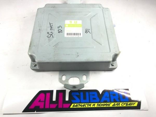 Блок управления двигателя, мозг Subaru Forester SG EJ255 2004 (б/у)