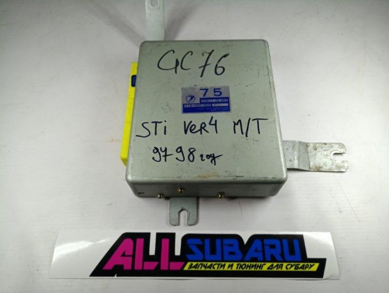 Блок управления двигателя, мозг Subaru Impreza Wrx Sti GC EJ207 1992 (б/у)