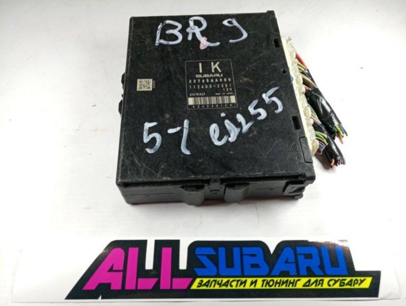 Блок управления двигателя, мозг Subaru Legacy BM EJ253 2009 (б/у)