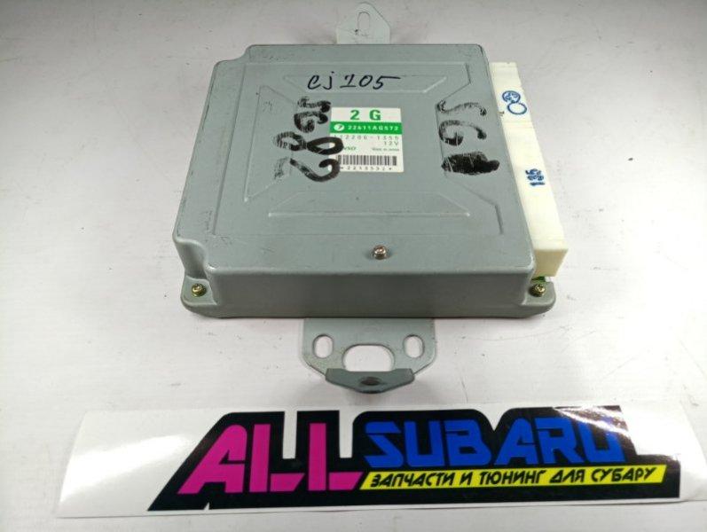 Блок управления двигателя, мозг Subaru Forester SG EJ205 2004 (б/у)