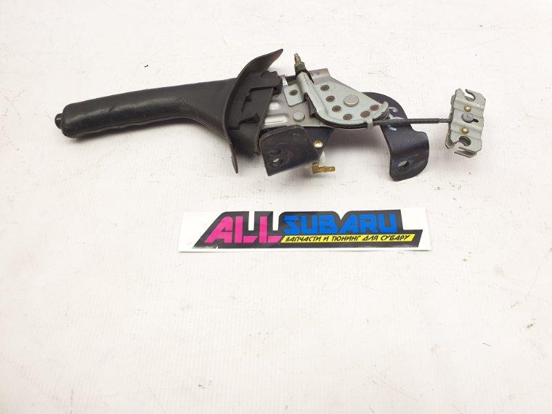 Ручка стояночного тормоза Subaru Impreza GC 1993 (б/у)