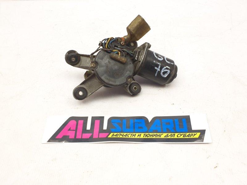 Моторчик трапеции дворников Subaru Impreza Wrx Sti GC 1994 передний (б/у)