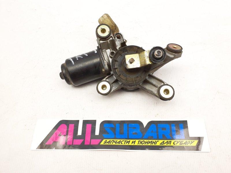 Моторчик трапеции дворников Subaru Forester SF 1996 передний (б/у)