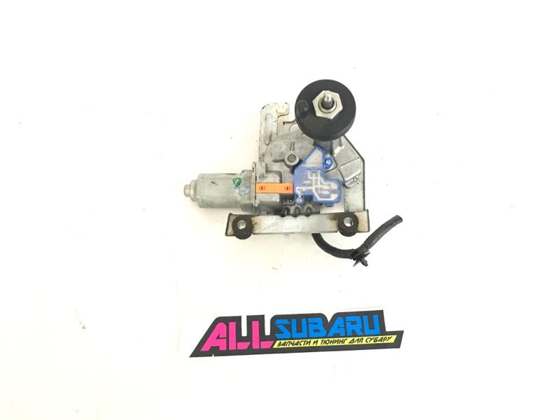 Моторчик заднего дворника Subaru Impreza Wrx GVF 2007 задний (б/у)