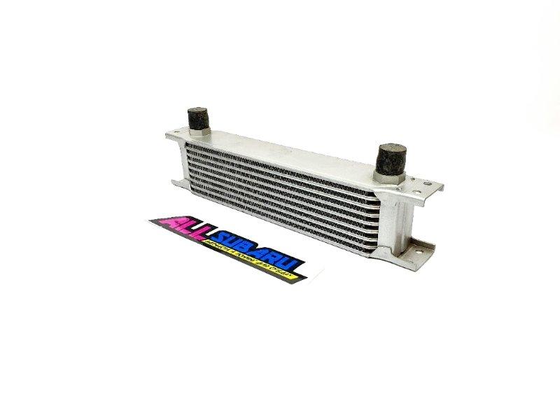 Масляный радиатор, маслокулер 9 рядов Subaru