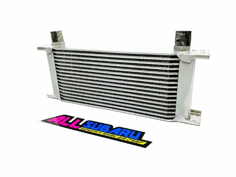 Масляный радиатор, маслокулер 16 рядов Subaru