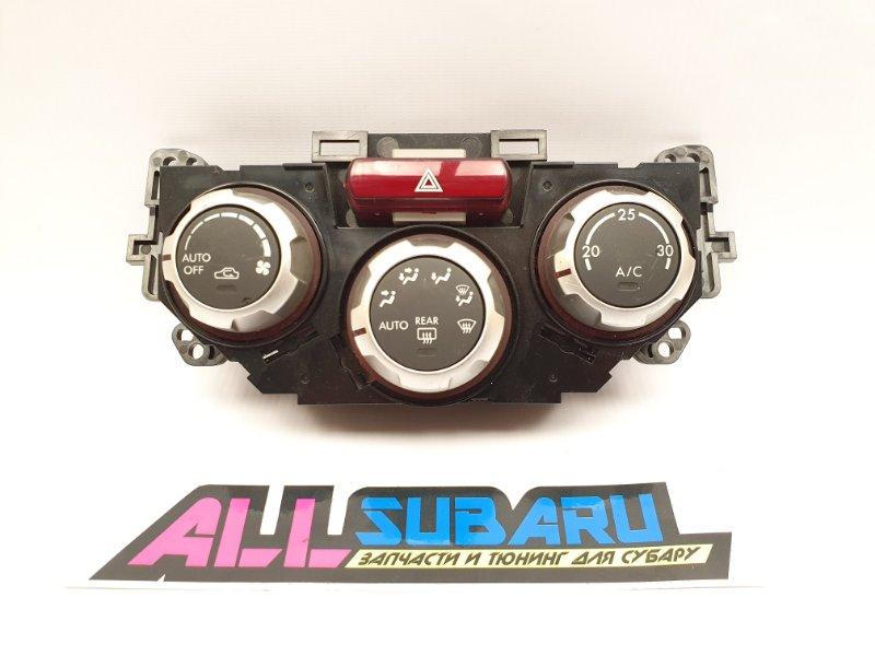 Рамка климата, климат контроль Subaru Impreza Wrx Sti GRB 2008 передняя (б/у)