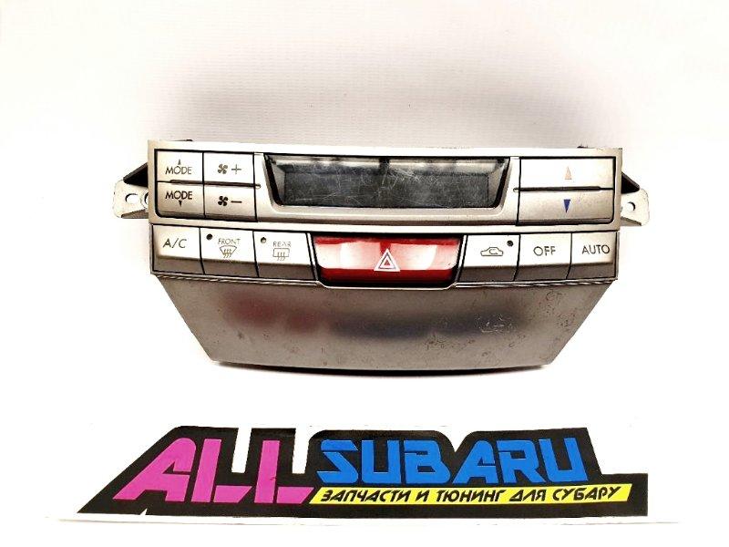 Рамка климата, климат контроль Subaru Legacy BM 2009 передняя (б/у)
