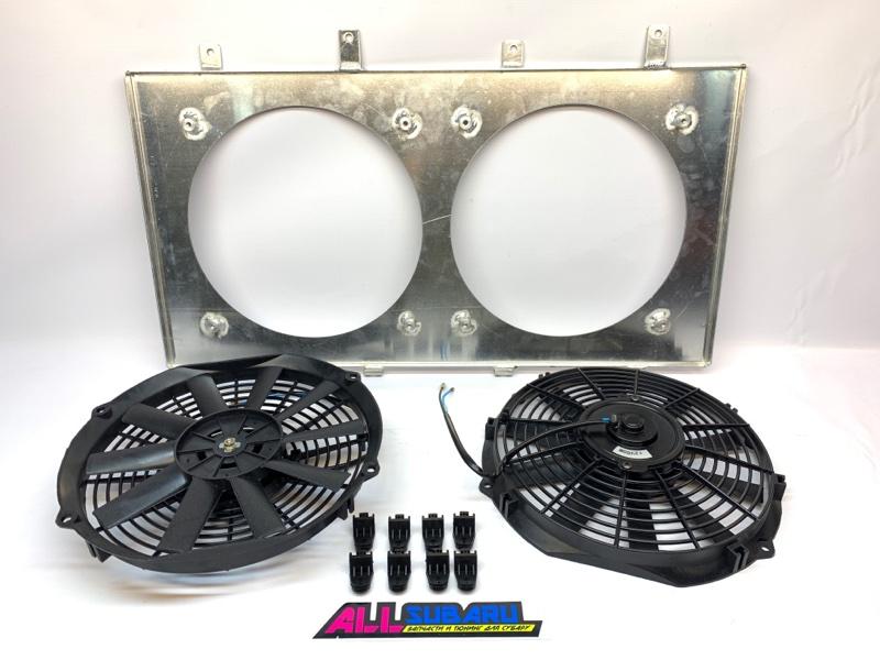 Вентилятор охлаждения двигателя Subaru Forester SG 2002
