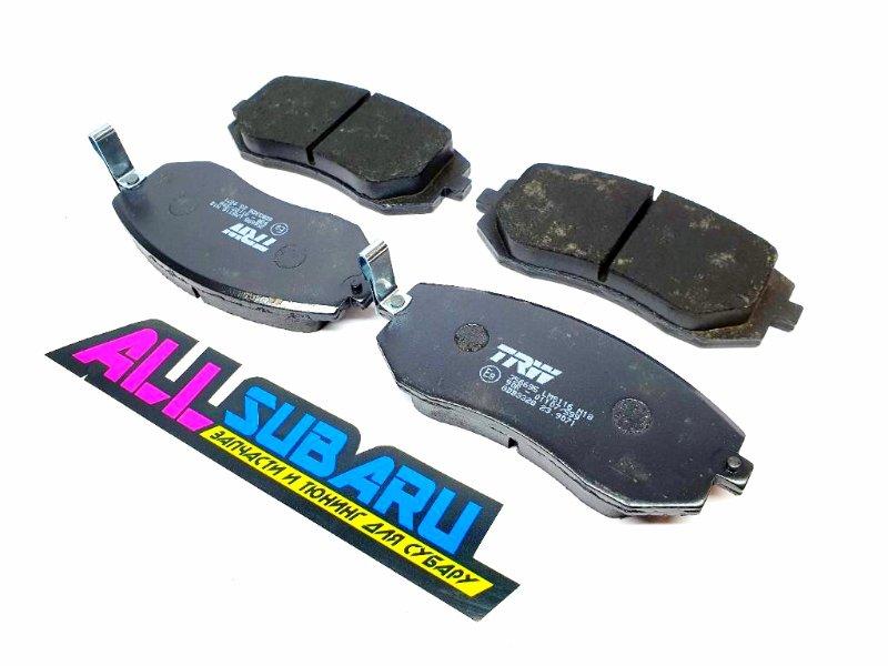 Тормозные колодки передние Subaru Impreza GD 2000 переднее