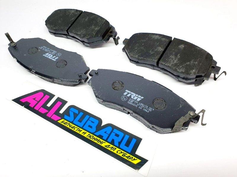 Тормозные колодки передние Subaru Forester SJ 2003 переднее