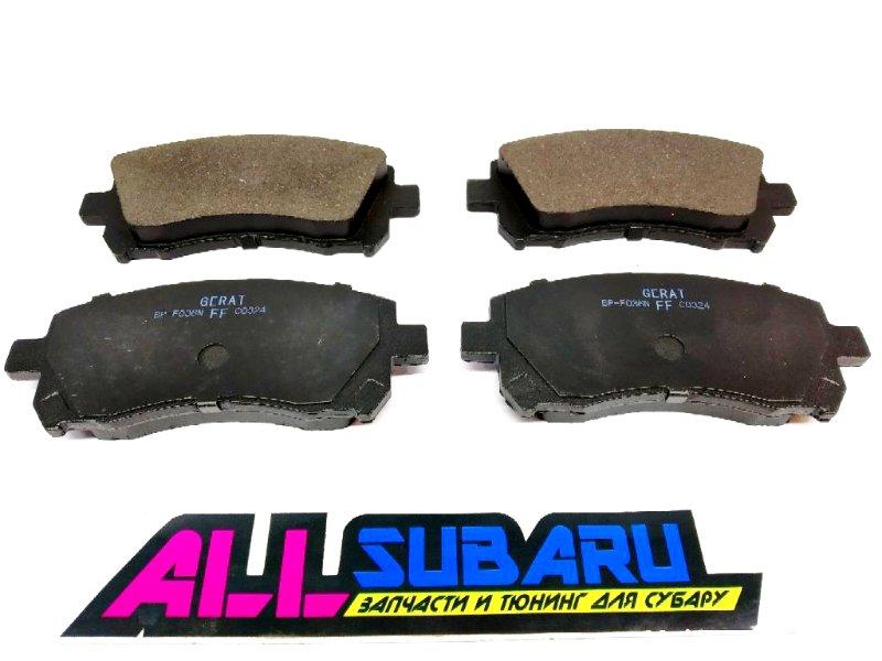 Тормозные колодки передние Subaru Impreza GC 1996 переднее