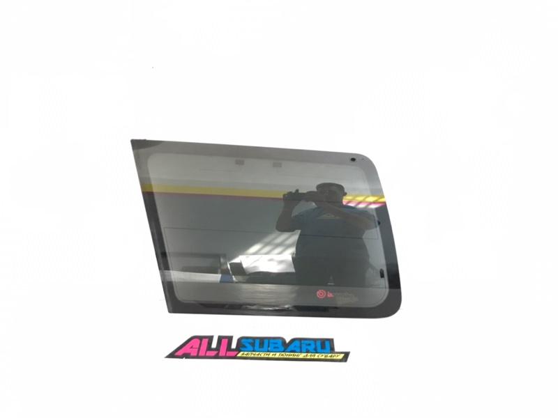 Стекло собачника, форточка Subaru Forester EJ207 заднее левое (б/у)
