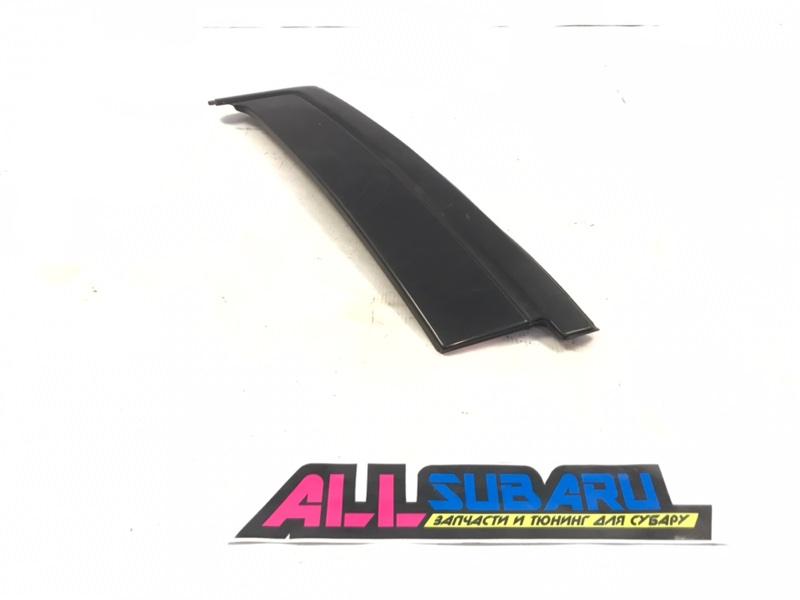 Молдинг бокового стекла Subaru Forester SF 1996 задний левый (б/у)