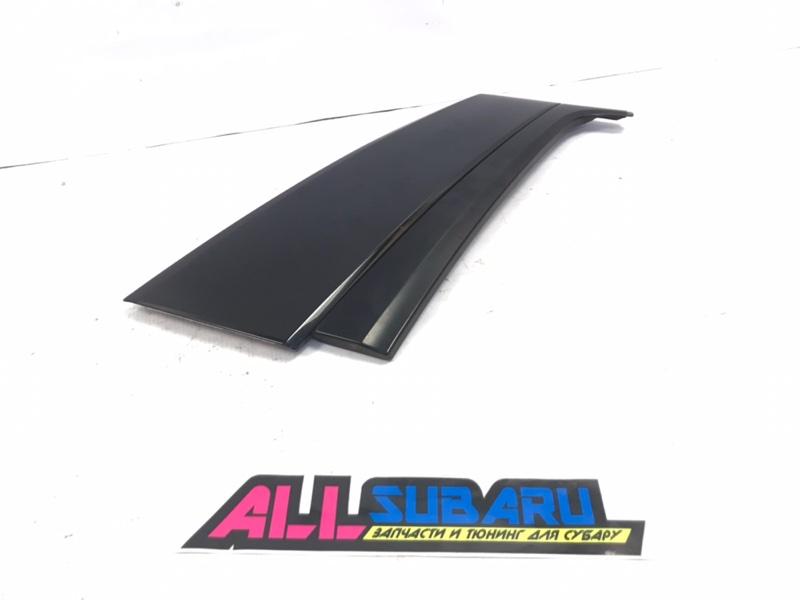 Молдинг бокового стекла Subaru Forester SG 2002 задний правый (б/у)