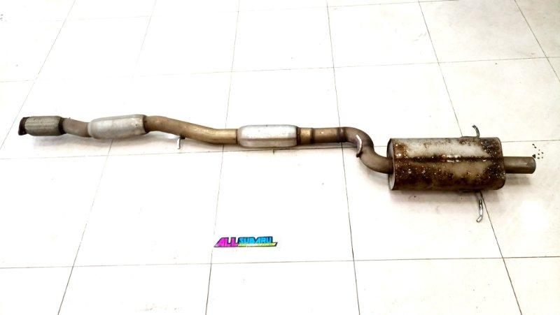 Выхлопная система, катбэк Subaru Impreza Wrx Sti GD 2000 (б/у)