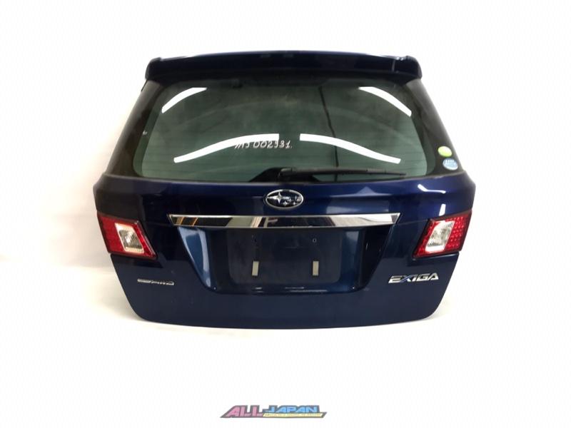 Крышка багажника Subaru Exiga YA9 2008 задняя (б/у)