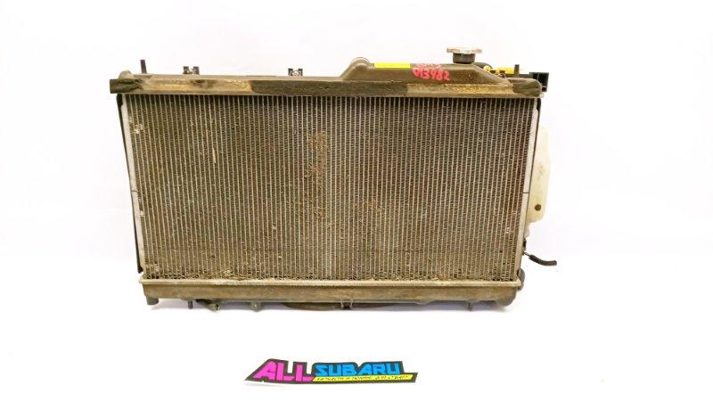 Радиатор охлаждения двигателя Subaru Legacy BM 2009 (б/у)