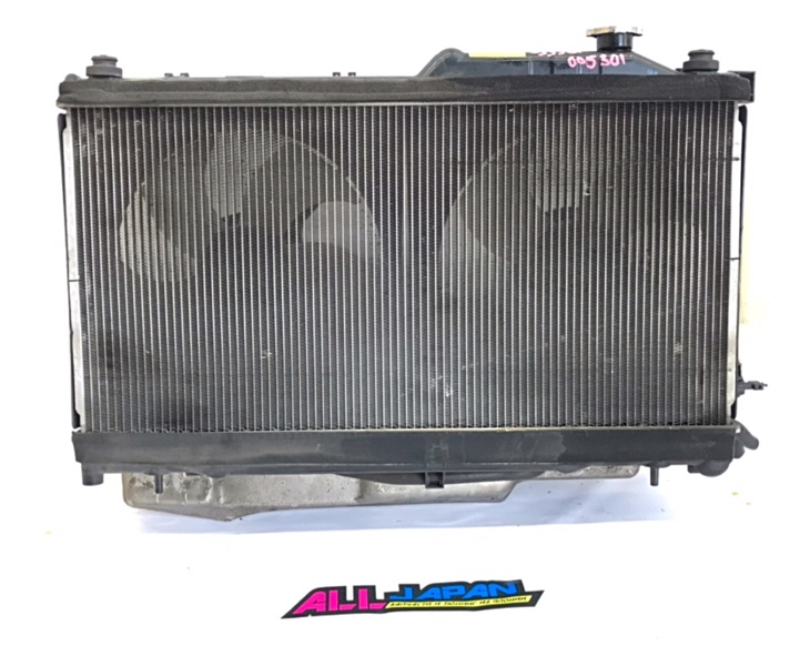 Радиатор охлаждения двигателя Subaru Legacy BP9 2006 передний (б/у)