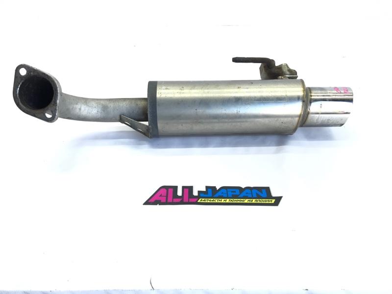 Выхлопная система, глушитель Nissan Presage TU31 2003 задняя (б/у)
