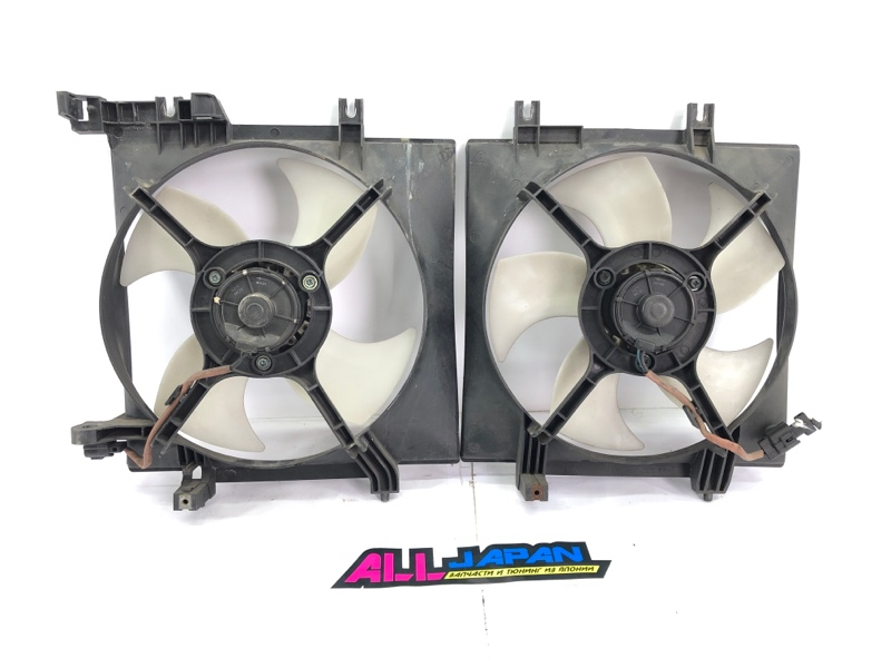 Вентилятор охлаждения двигателя Subaru Legacy BL 2006 передний (б/у)