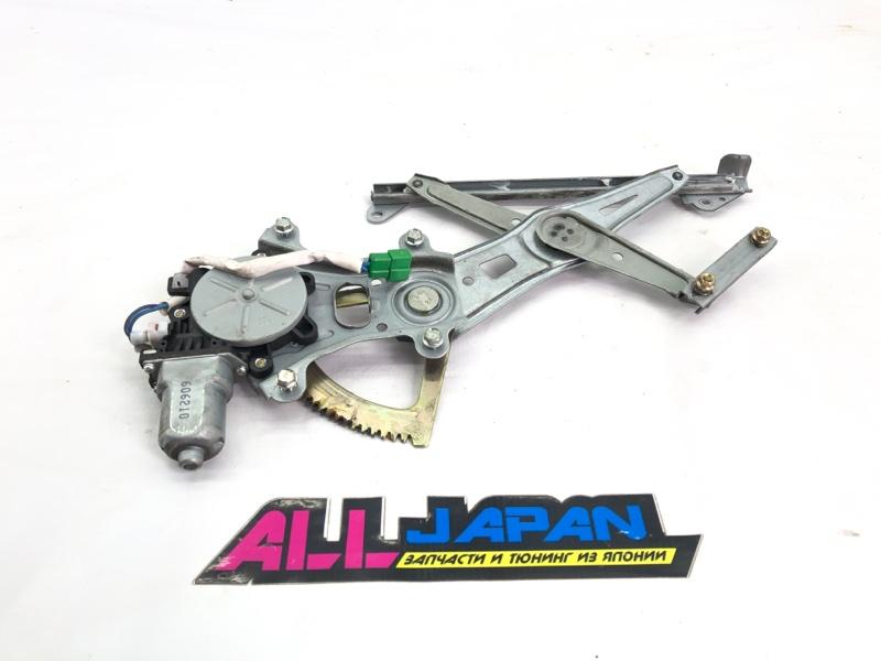 Моторчик стеклоподъемника Subaru Legacy BP 2006 задний левый (б/у)