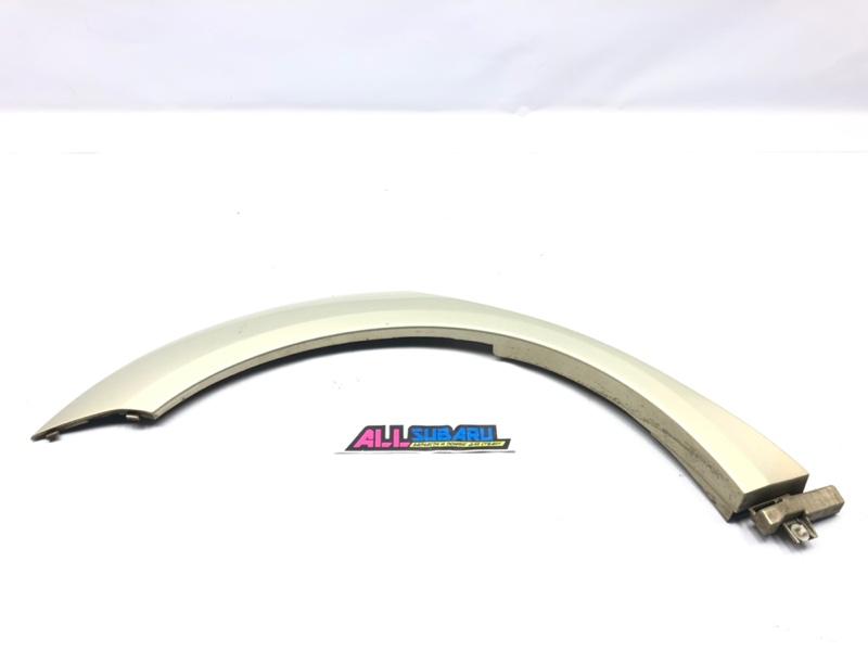 Молдинг кузова, накладка арки, крыла Subaru Outback BP 2003 задний правый (б/у)