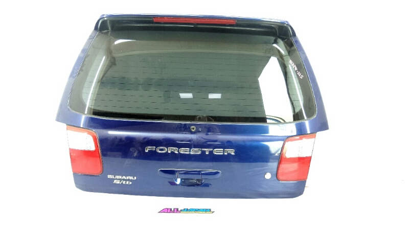 Крышка багажника Subaru Forester SF 2000 задняя (б/у)