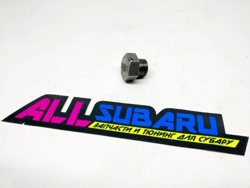 Заглушка лямбда зонда Subaru Impreza Wrx Sti
