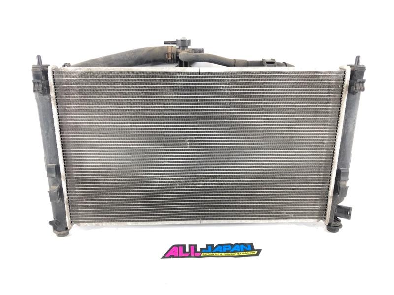 Радиатор охлаждения двигателя Mitsubishi Lancer CY4A 2007 передний (б/у)