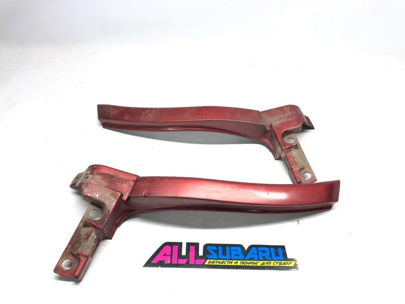 Порог, накладка Subaru Forester SG 2003 задний (б/у)