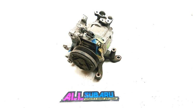 Компрессор кондиционера Subaru Forester SH EJ205 2007 (б/у)