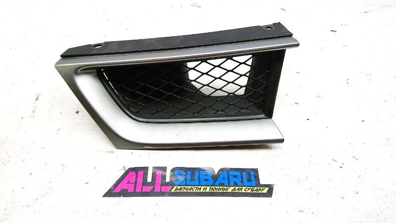 Решётка радиатора Subaru Impreza Wrx Sti GDB EJ207 2006 передняя правая (б/у)