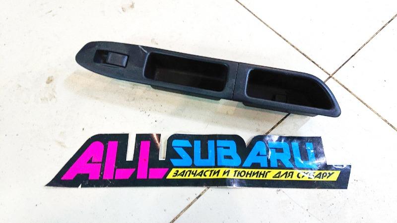 Блок управления стеклоподъемниками Subaru Forester SG EJ255 2006 передний левый (б/у)