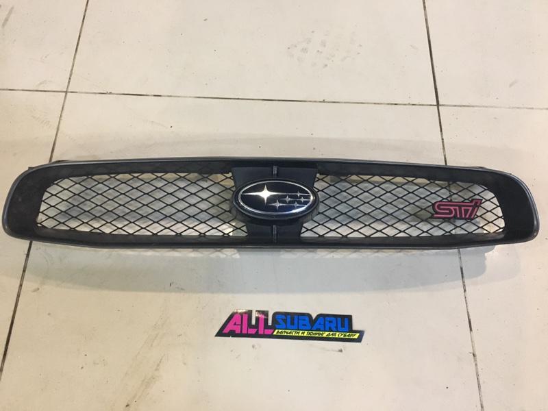 Решётка радиатора Subaru Impreza Wrx Sti GDB EJ207 2003 (б/у)