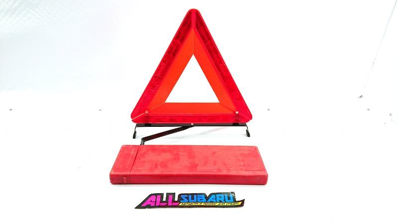 Знак аварийной остановки Subaru (б/у)