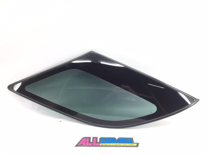 Стекло собачника, форточка Subaru Impreza Wrx GGA EJ205 2006 заднее левое (б/у)
