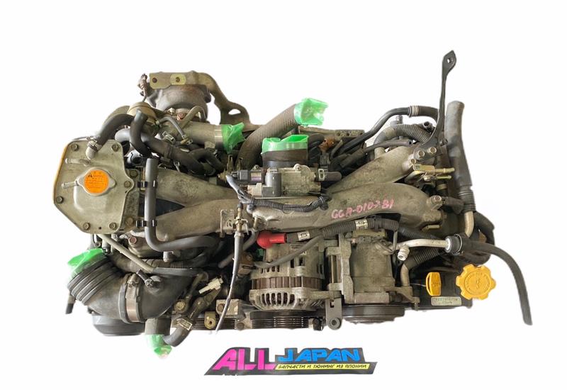 Двигатель Subaru Impreza Wrx GGA EJ205 2003 (б/у)