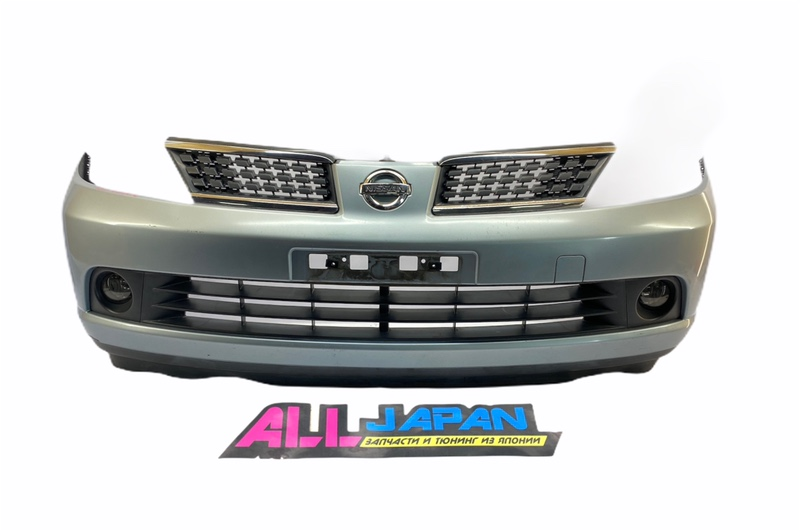 Бампер передний Nissan Tiida JC11 2004 передний (б/у)