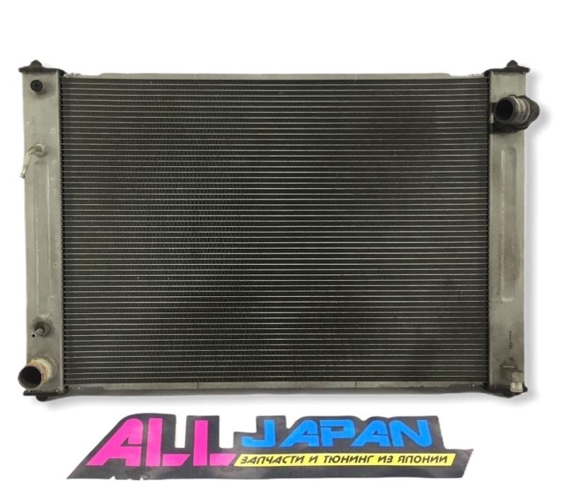 Радиатор охлаждения двигателя Nissan Skyline PV36 2006 передний (б/у)