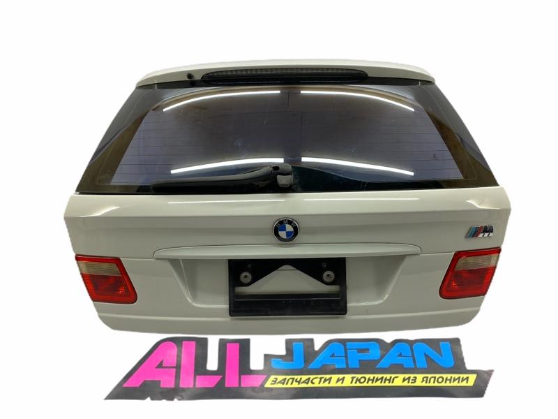 Крышка багажника Bmw 3-Series E46 2001 задняя (б/у)